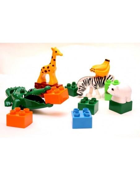 lego Duplo Kaladėlės su gyvūnais 13 elementų
