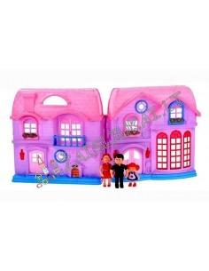 """Plastikinis lėlių namas su baldais """"Castle"""""""