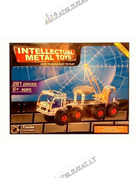 Metalinis konstruktorius - Sunkvežimis su keltuvu