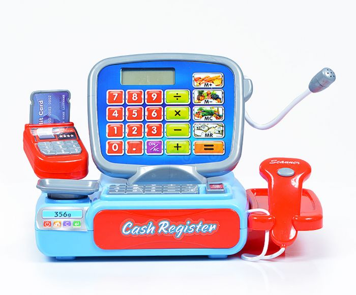 Kasos aparatas su kalkuliatoriumi