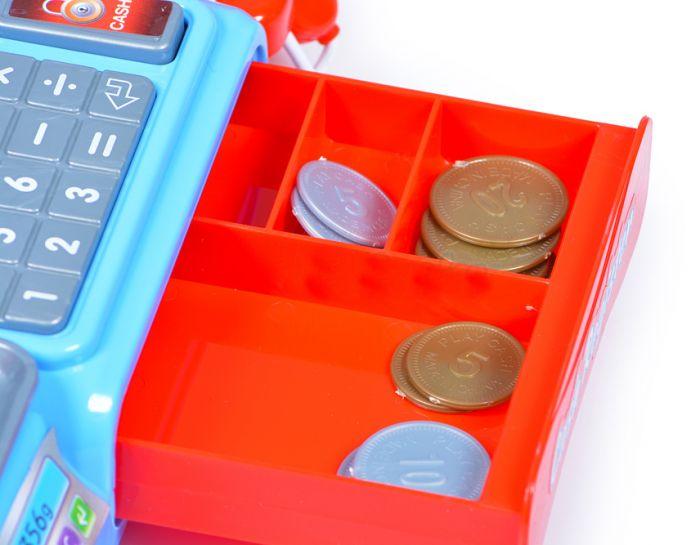 Pinigų dėžė po kasos aparatu