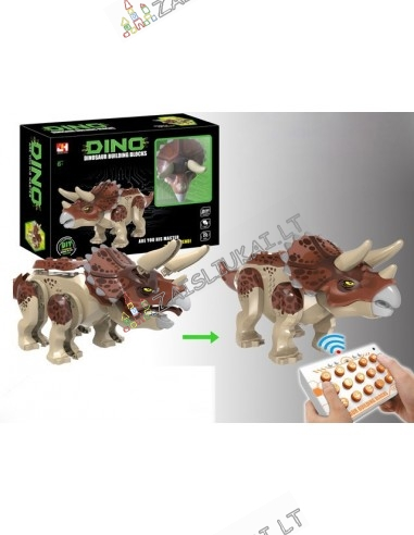 Valdomas dinozauras su ragais