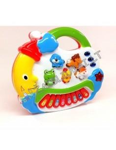 """Muzikinis žaislas sintezatorius su melodijom ir gyvūnų garsais """"Pianinas Labanakt vaikučiai"""""""