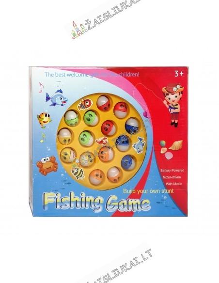 """Žaidimas su meškerėm """"Žvejyba"""""""