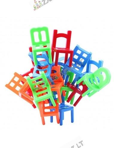 Balansinis stalo žaidimas su kėdėm