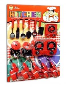 Vaikiškas virtuvinių puodų rinkinys