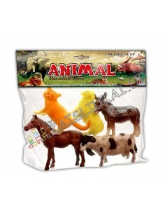 Žaislinės gyvūnų figūrėlės