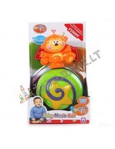 Linguojantis žaislas Beždžionė ant kamuolio