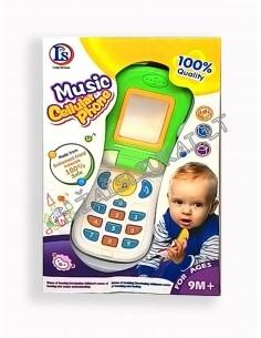 Muzikinis atlenkiamas telefonas