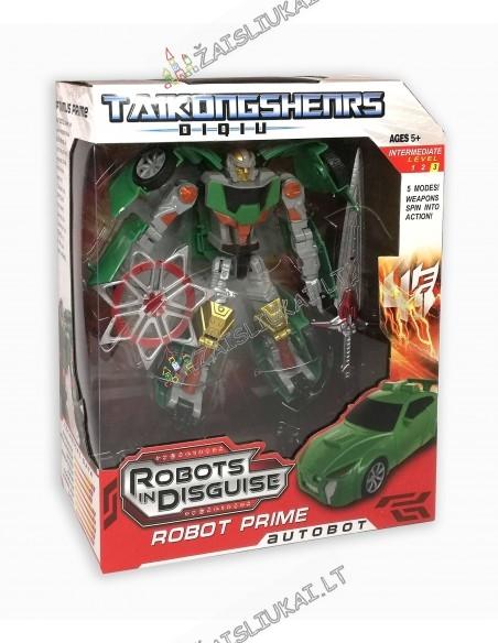 Medinis robotas-transformeris