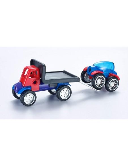 Magnetinių automobilių rinkinys