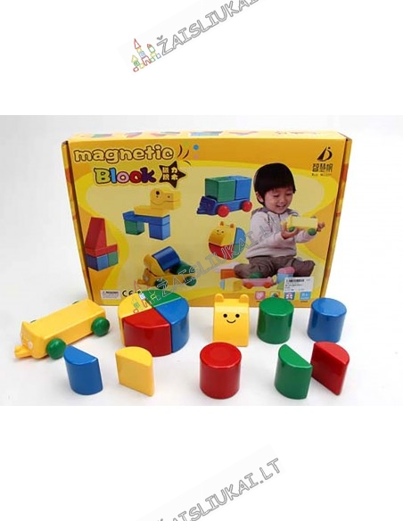 Magnetinis konstruktorius - Blokai mažyliams