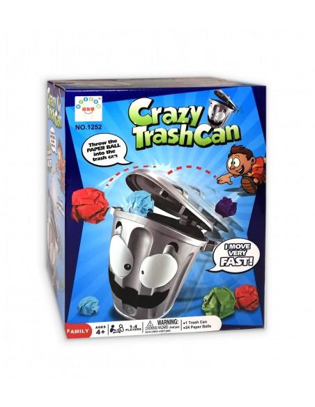 "Kambario žaidimas ""Crazy Trash Can"""