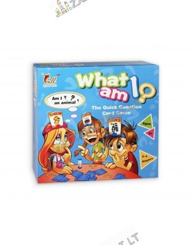 Stalo žaidimas - Atspėk, kas aš?