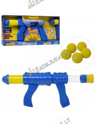 Pneumatinis 40 cm ginklas šaudantis kamuoliukais