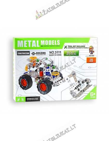 Metalinis konstruktorius keltuvas-savivartis