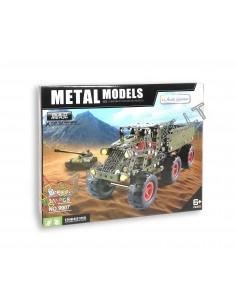 Metalinis konstruktorius karinis sunkvežimis