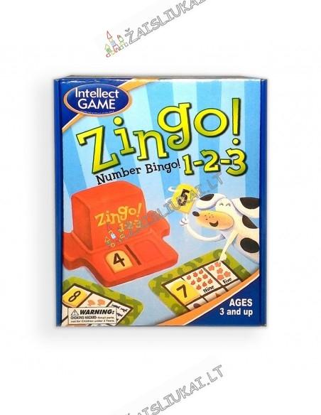Stalo žaidimas - ZINGO skaičiai