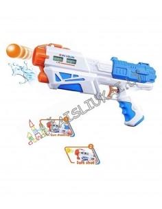 Vandens šautuvas šaudo vandeniu arba kamuoliukais 2 in 1