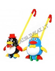 """Stumdomas žaislas su pagaliu """"Pingvinas"""""""