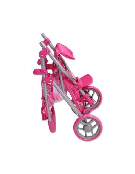 Žaislinis sportinis vežimėlis lėlėms iki 38 cm