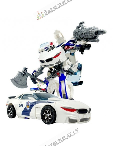 Transformers robotas policininkas