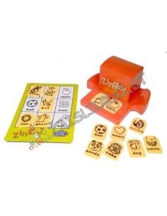 Stalo žaidimas - ZINGO daiktai