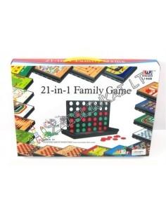 klasikinių stalo žaidimų rinkinys 21 in 1