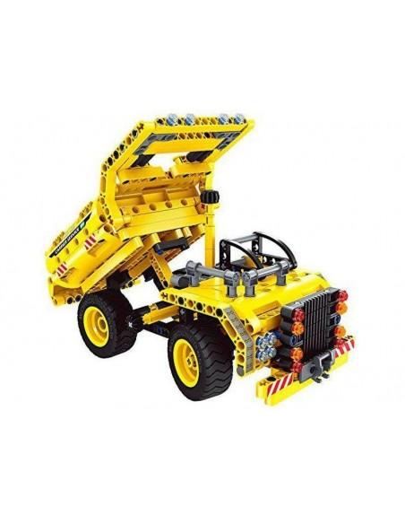 Konstruktorius 2-viename savivartis ir lėktuvas suderinamas su Lego Technics