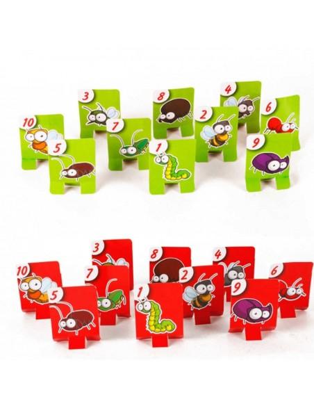Linksmas stalo žaidimas Chameleonas  - Tic Tac Tongue