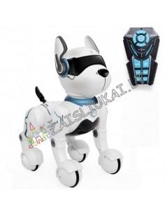 Interaktyvūs žaislas Robotas Šuo A001, valdomas radijo bangomis ir valdomas balsu