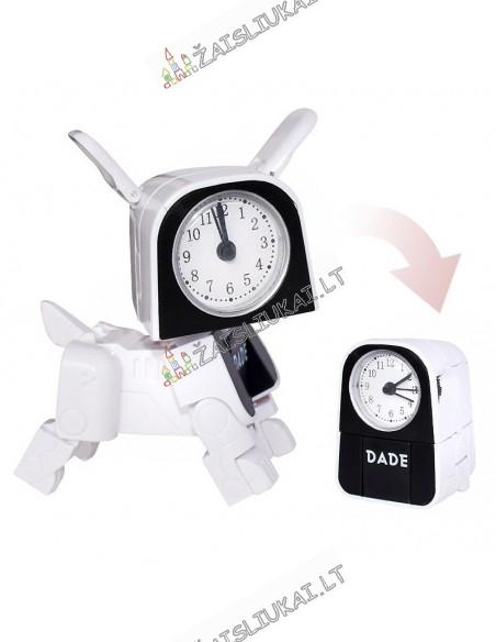 Transformeris Šuo transformuojasi į laikrodį