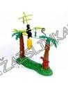 Stalo žaidimas - Beždžionė ant lino