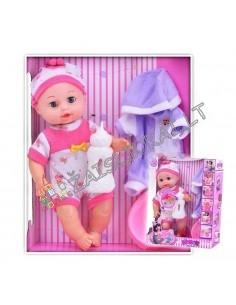 Lėlė - kūdikis su rubais