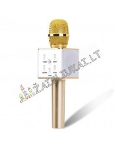 Karaoke Q7 mikrofonas suaugusiems ir vaikams su Bluetooth funkcija