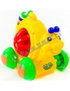 Stumdomas žaislas su pagaliu Dinozauras, Sraige, Dramblys, Avyte