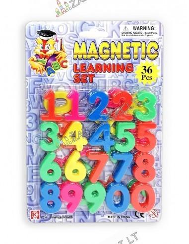 """Magnetiniai skaičiai """"123"""""""