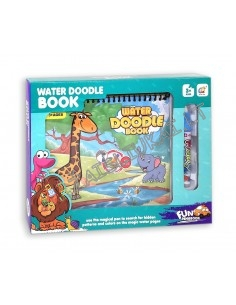 "Spalvinimo knyga su vandeniniu rašikliu ""Safari"""