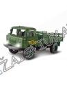 Antrojo pasaulinio karo modeliukas su šviesa, karinis sunkvežimis, modelis 1:20