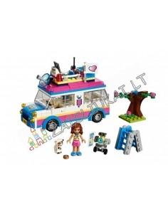 "Konstruktorius Lego Bela Lari Friend ""Mobili laboratorija"" 228 dalių"