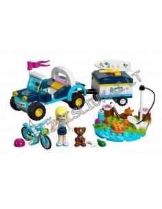 "Lego Konstruktorius Bela Lari Friend ""Mašina su priekaba"" 241 dalių"