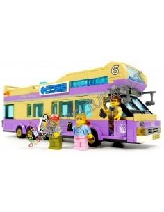 """Konstruktorius ENLIGHTEN """"Miesto autobusas"""" 455 dalių"""