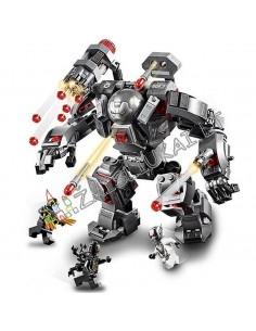 """362 dalių Lego analogo konstruktorius SY Heroes Assemble """"Karinis kostiumas super herojaus"""""""