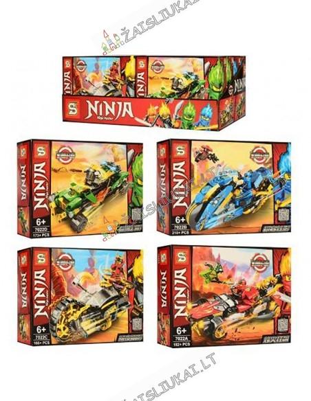 LEGO Konstruktorius Ninja - 4 rūšių