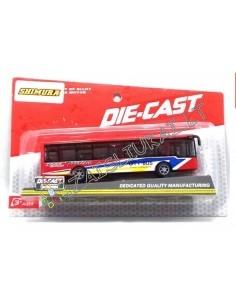 Metalinis autobuso modeliukas