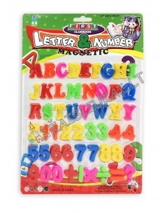 Magnetinių raidžių ir kaičių rinkinys