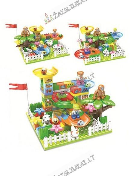 """LEGO Konstruktorius Dublo """"Linksmi kalniukai"""" 95 dalių"""