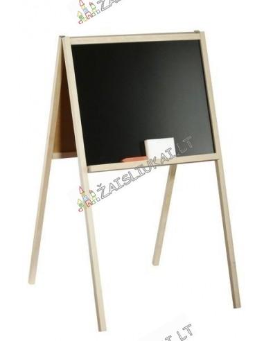 Dvipusė medinė piešimo lenta