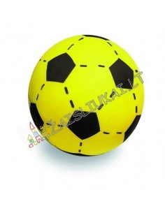 Minkštas poroloninis futbolo kamuolys 20 cm