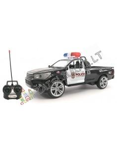 Pakraunamas radijo bangomis valdomas policijos džipas